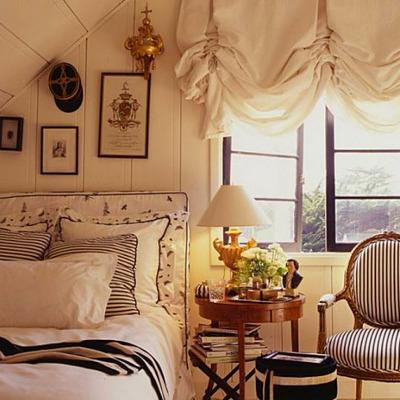 Короткие шторы франзузского стиля