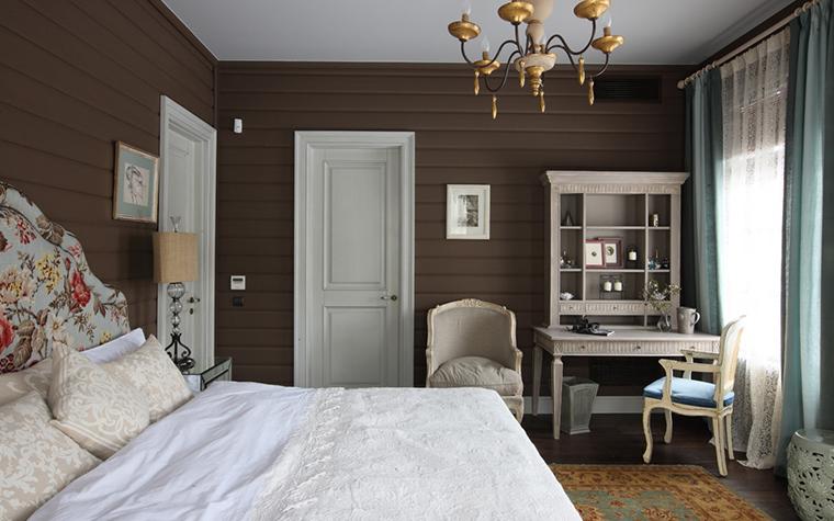 Дизайн интерьера спальни в стиле прованс
