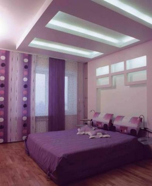Дизайнерские потолки из гипсокартона подойдут практически к любому помещению