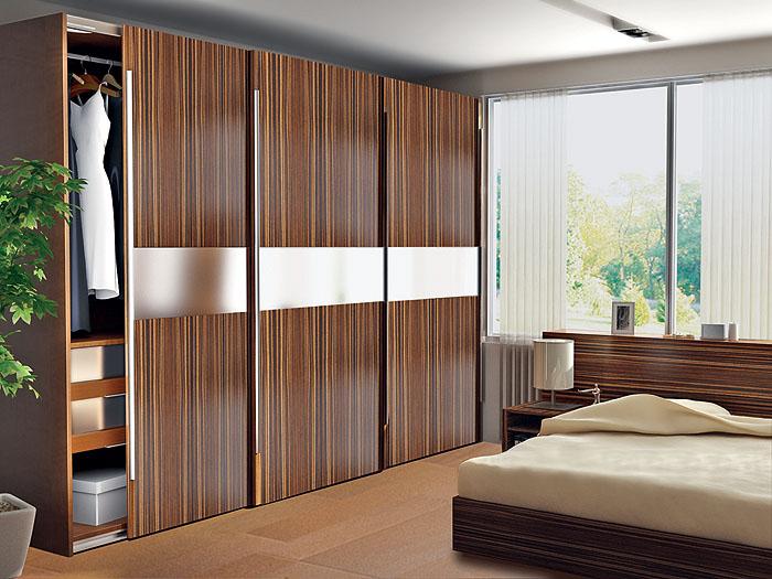 Дизайн прямого шкафа для спальни