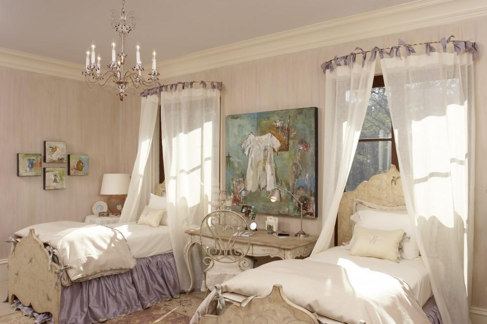 Спальня прованс для двух девочек