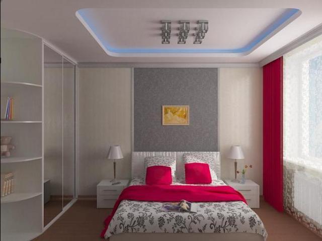 Белый потолок из гипсокартона