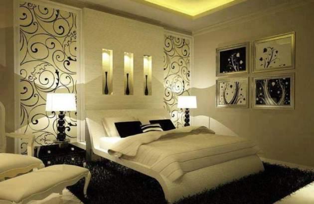 Особо стоит отметить обойные вставки, их различная комбинация поможет украсить даже самое мрачное помещение