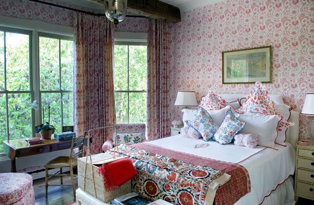Романтичное настроение в спальне, помогает создать стиль прованс