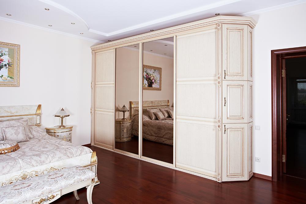 Шкаф подбирается по стилю оформления дизайна помещения